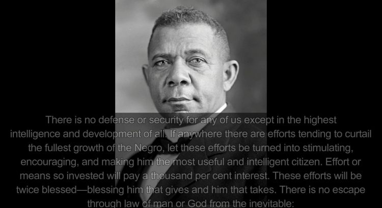 booker t washington atlanta compromise essay Atlanta compromise analysis essay sample the cotton states and international exposition was held in atlanta, georgia beginning in september of 1895 booker t washington was invited to give the opening address.