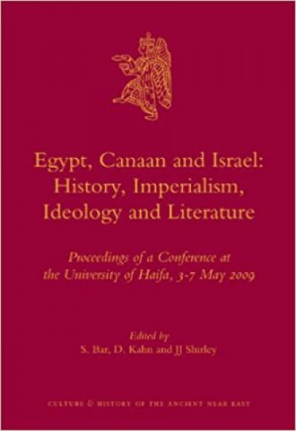 Egypt, Canaan and Israel- History, Imperialism, Ideology and Literature_440x640